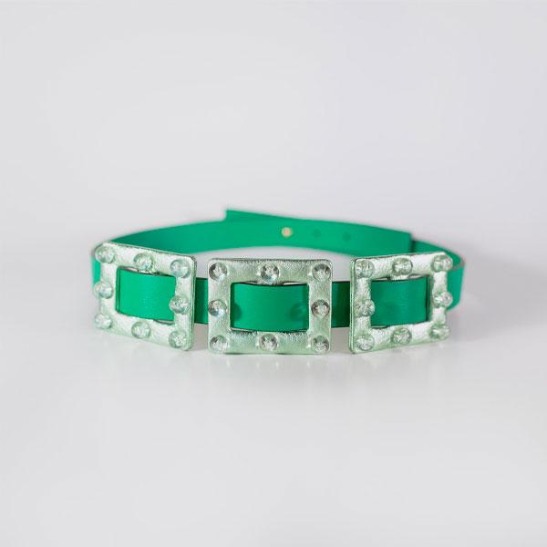 Cinturón Verde - Transparente Carmen Berdonces